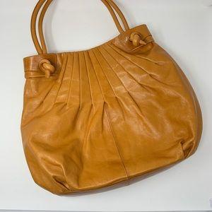 HOBO Large Leather Satchel Bag